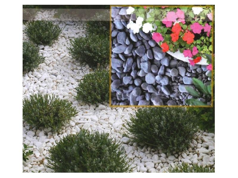 Les galets et graviers ruaud mat riaux for Gros galets decoratifs